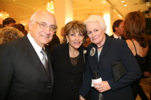 Liener Temerlin with Dominique Peck and AFI's Jean Picker Firstenberg at the Opening Night of the first AFI Dallas Film Festival