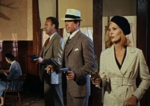 I think they're serious about this salute to the films of 1967 (BONNIE AND CLYDE)