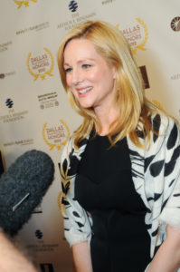 "2012 DALLAS STAR AWARD HONOREE, Laura Linney says you ""should never turn down the chance to go to a film festival"" (Photo by Jorge Martinez)"