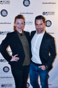 Elise Fyke and Matthew Morgan, the casting team behind STRANGE WEATHER (Photo by Bill Dabney)