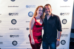 Producers of the creepy fun short FEEDING TIME, Jennifer and Kevin Studer (Photo by Bill Dabney)