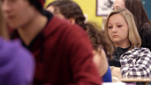 Abby Stewart in THE OTHER KIDS (Photo courtesy of CB Films).