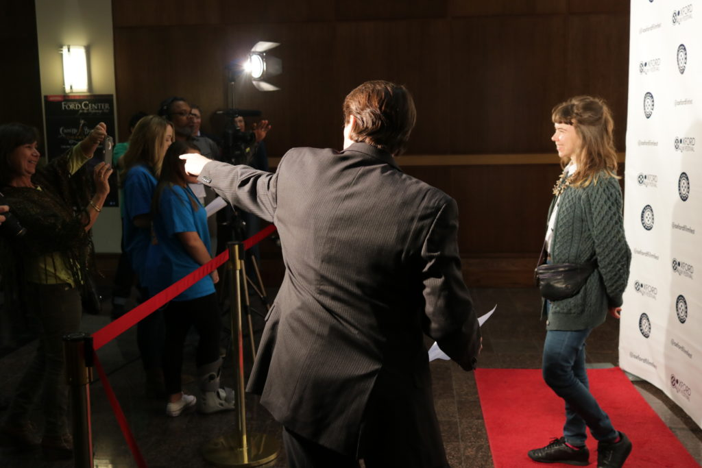 The Red Carpet point is in full effect (Photo by Daniel Lee Perea)