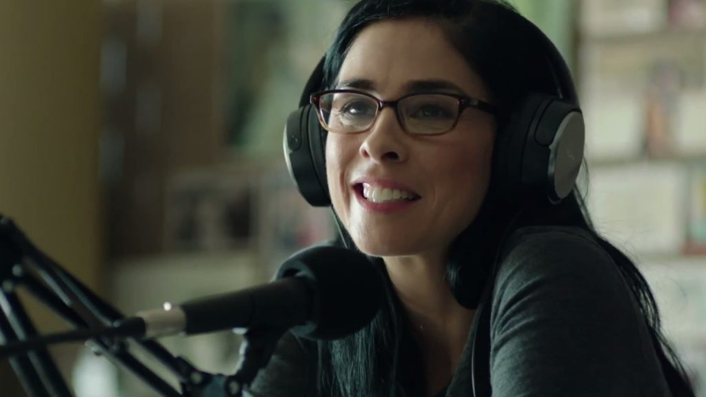 Sarah Silverman on the radio in PUNCHING HENRY
