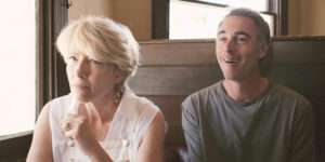 Emma Thompson and Greg Wise in HIGH ROAD