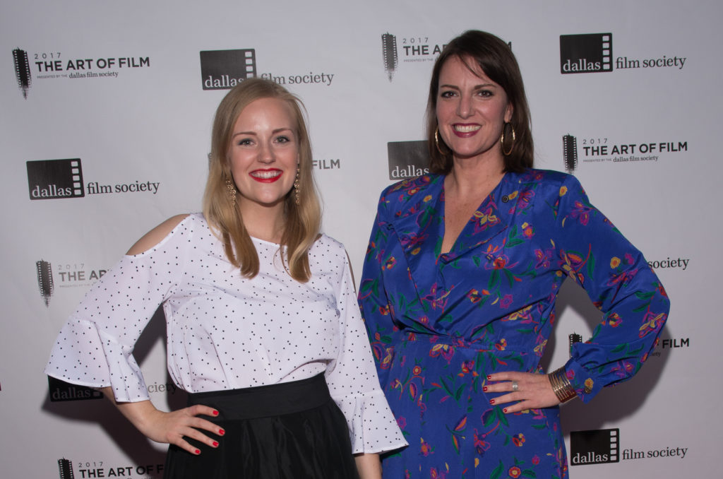 Dallas Comedy House's Amanda Austin and Maggie Rieith Austin (Executive Producer, Dallas Comedy Festival) (Photo by Steve Duffy)