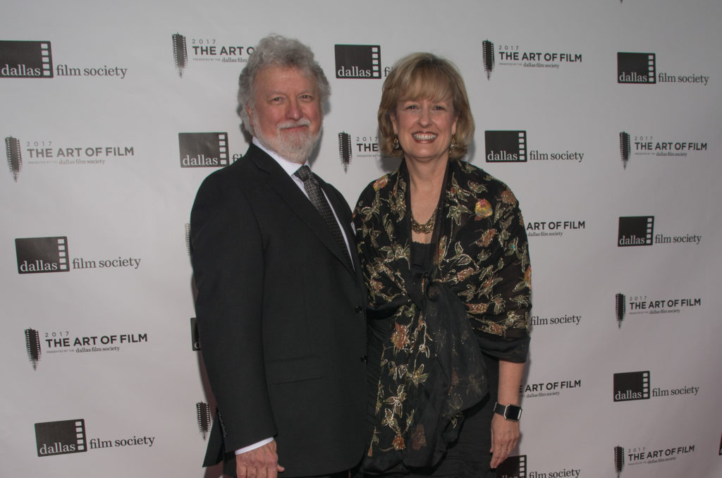 Don Stokes and Deborah Stokes, Art of Film Host Committee (Photo by Steve Duffy)