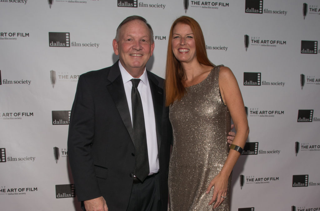 Gary Cogill and Haley Cogill, Art of Film Host Committee. Gary also served as the moderator of the discussion with Robert Benton, with his usual aplomb. (Photo by Steve Duffy)