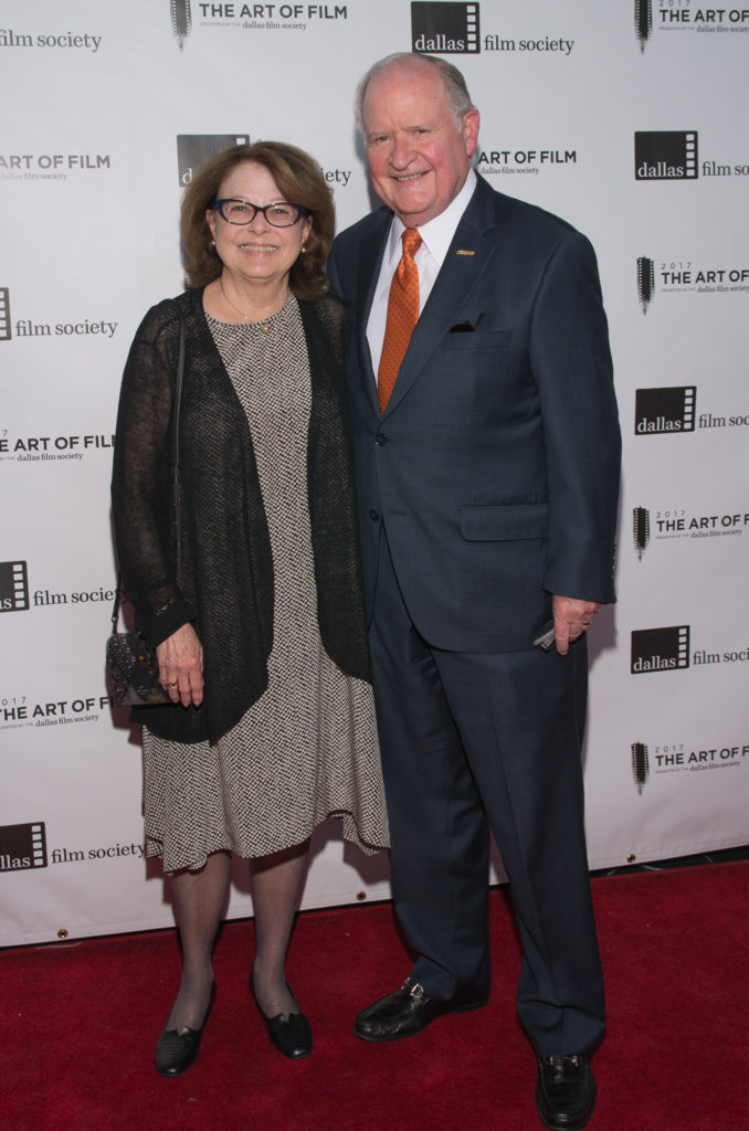 Judy Coats and Sam Coats, Art of Film Host Committee (Photo by Steve Duffy)
