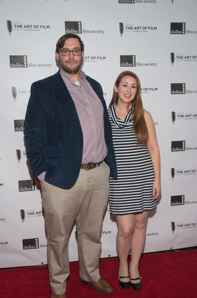 Justin D. Hilliard (Dallas Film Commission) and Arianne Martin (DRIVE ANGRY)