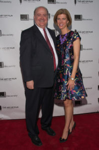 Lee Papert (President and CEO, Dallas Film Society) and Sarah Papert (Photo by Steve Duffy)