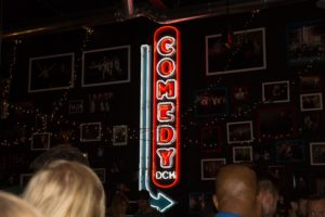 The sign will direct you to find the funny... (Photo Lindsay Jones)