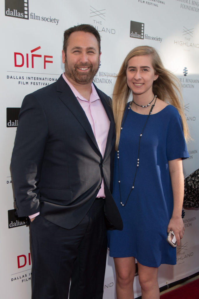 Studio Movie Grill's Brian Schultz, Sarah Schultz attended the DFS Honors event to present the Silver Heart Award (Photo by John R. Strange/Selig Polyscope Company)