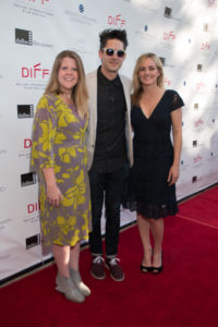 The Documentary Competition Jury: Jolene Pinder (#CreateLouisiana), David Wilson (WE ALWAYS LIE TO STRANGERS), Laura D. Smith (IT FOLLOWS) (Photo by John R. Strange/Selig Polyscope Company)
