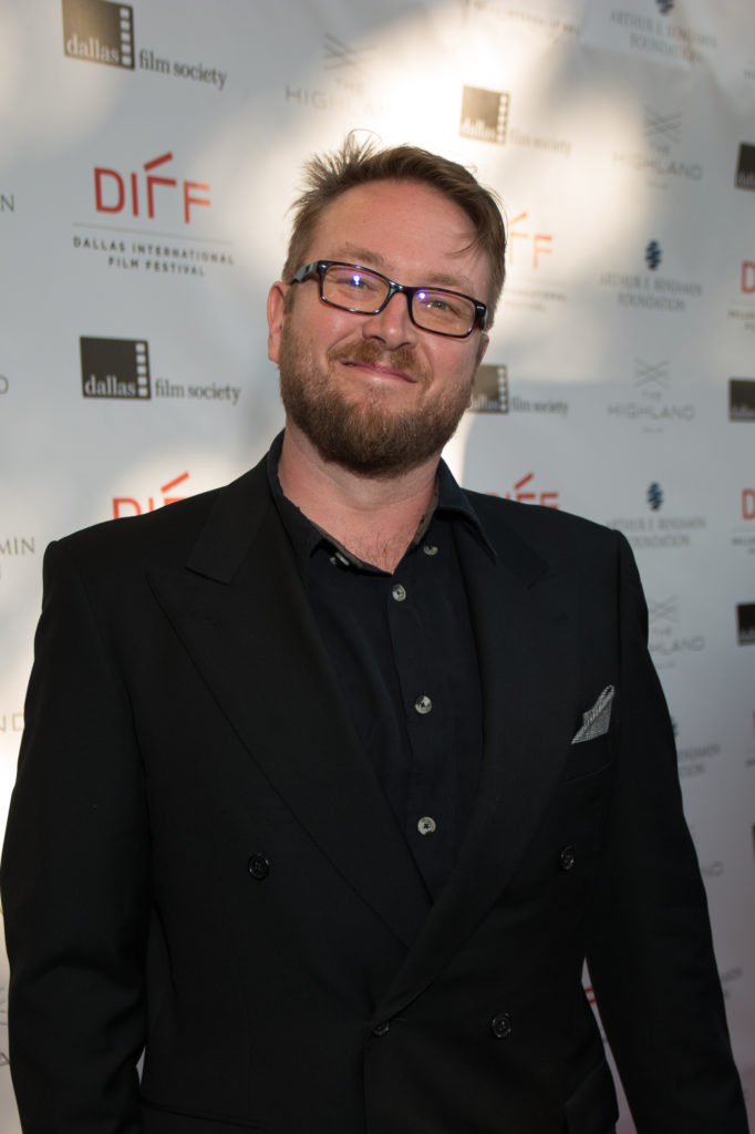 Hunter Carson (Sponsor and Presenter of the L.M. Kit Carson Maverick Filmmaker Award) (Photo by John R. Strange/Selig Polyscope Company)