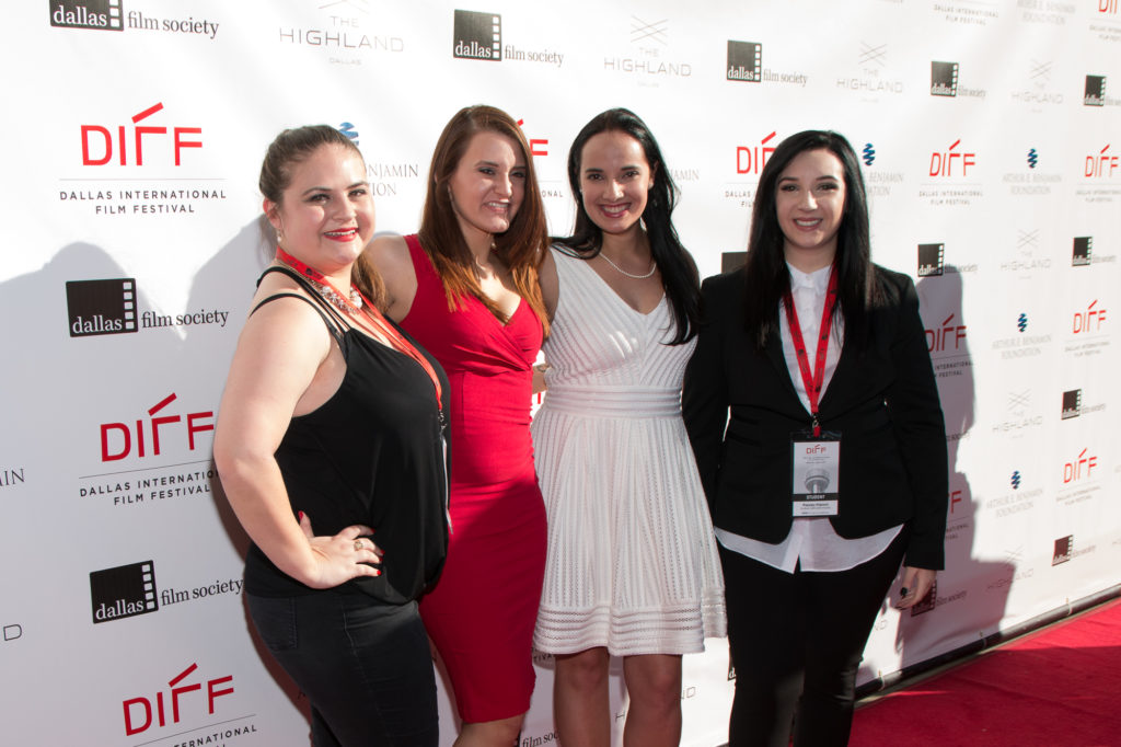 Jen Grey (Screenwriter), Bec Donoghue (Cast), Courtney Gonzalez (Cast), Presley Impson (Director) of ENOUGH (SMU) (Photo by John R. Strange/Selig Polyscope Company)