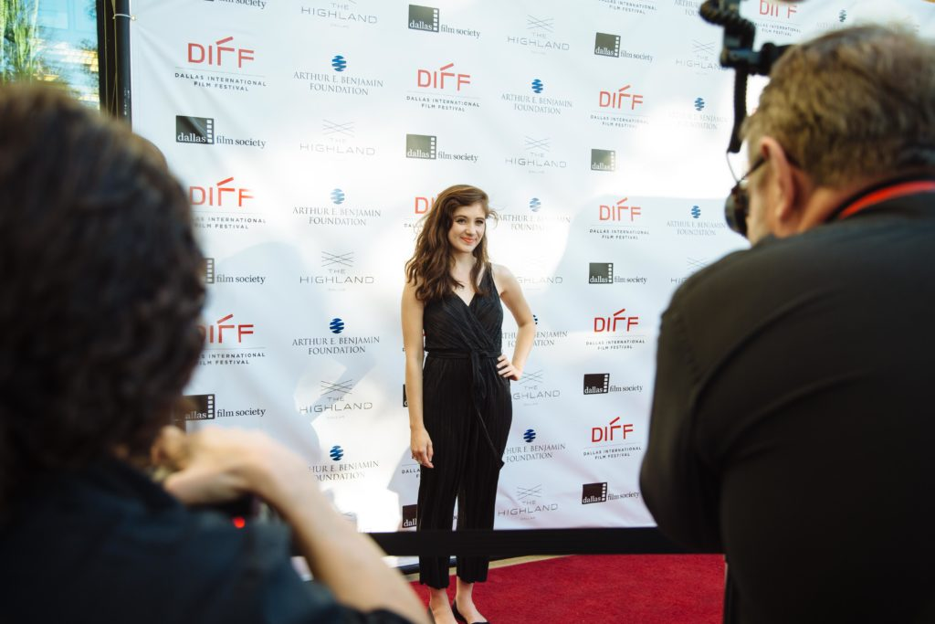 Noël Wells poses for photos (MR. ROOSEVELT) (Photo by Lindsay Jones)