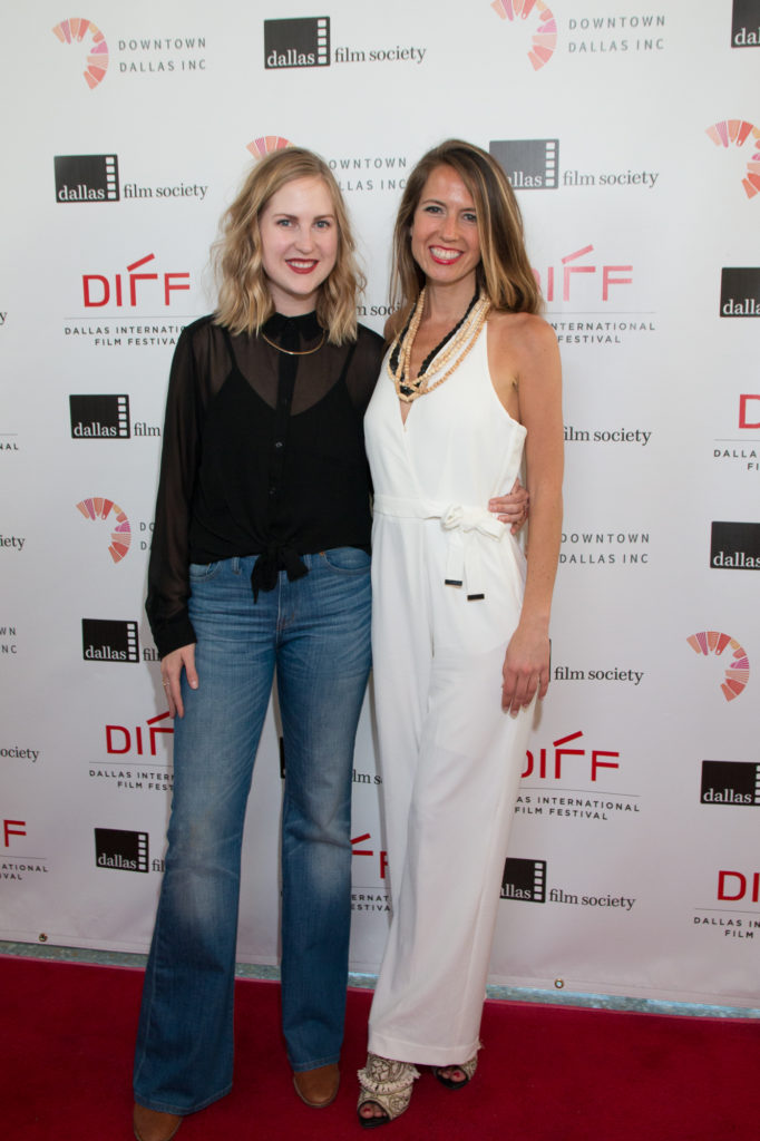 Carlyn Hudson (Director and Co-Screenwriter) with Mallory Culbert (Co-Screenwriter and star) of THE BIG SPOON (Photo by Cynthia Jordan/Selig Polyscope Company)