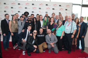 The cast and crew of BOMB CITY (Photo by John R. Strange/Selig Polyscope Company)