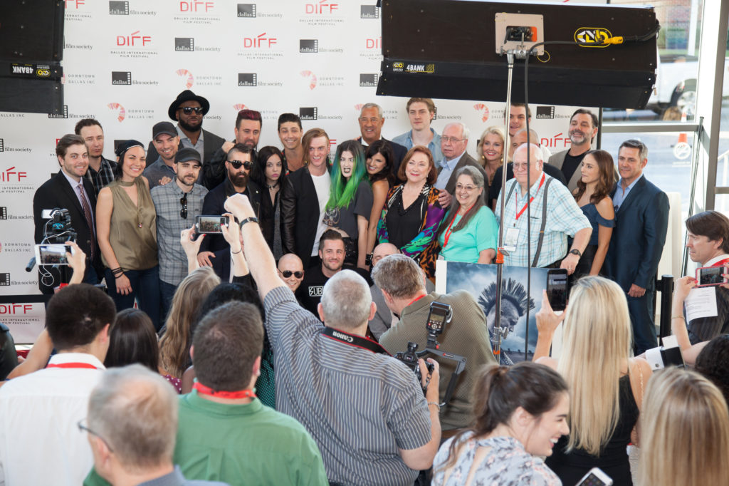 Posing the BOMB CITY cast and crew for the group shot. (Photo by Cynthia Jordan/Selig Polyscope Company)