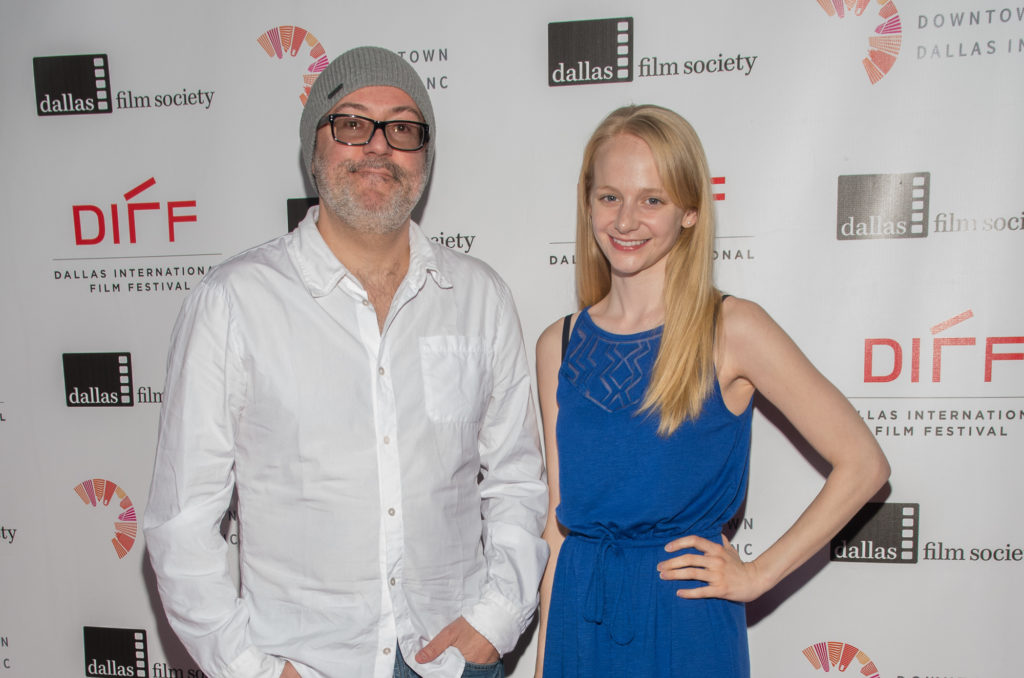 The director and his muse: A.D. Calvo and Erin Wilhelmi of SWEET, SWEET LONELY GIRL (Photo by Steve Duffy/Selig Polyscope Company)
