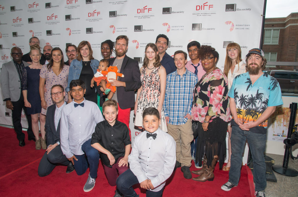 The cast and crew of INTO THE WHO KNOWS! (Photo by Steve Duffy/Selig Polyscope Company)