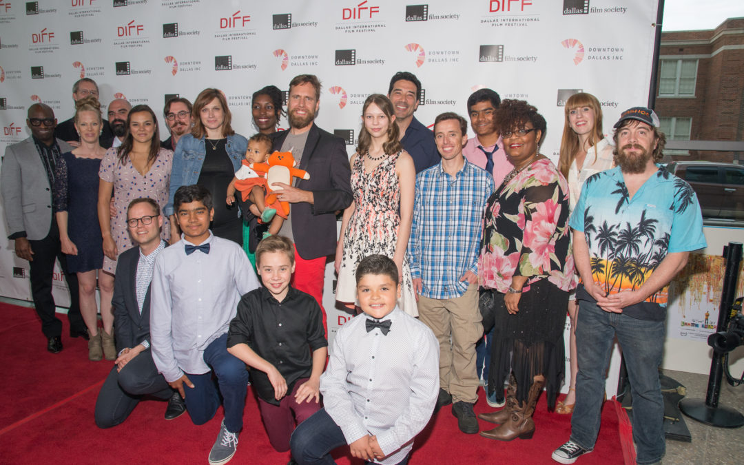FILM FESTIVAL NEWS: No April Fools! Felix the Fox and INTO THE WHO KNOWS! took over DIFF's red carpet on Saturday, April 1st