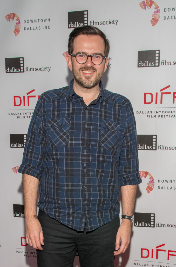 Tony Shaff, director/producer of 44 PAGES (Photo by Steve Duffy/Selig Polyscope Company)