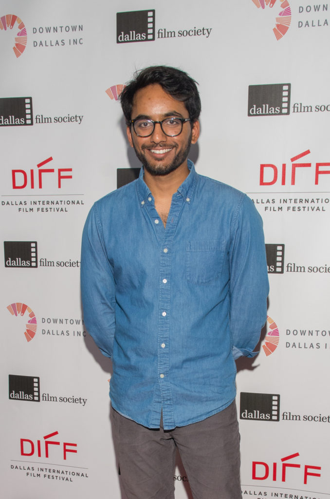 Director/Screenwriter/Editor Vishnu Vallabhaneni (SUNSHINE AND RAIN) (Photo by Steve Duffy/Selig-Polyscope-Company)