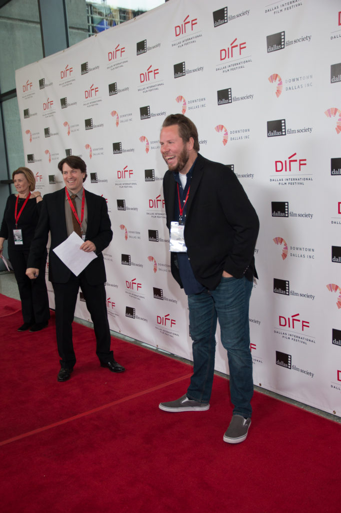 MUSTANG ISLAND's Craig Elrod having fun on the red carpet. (Photo by John R. Strange/Selig Polyscope Company