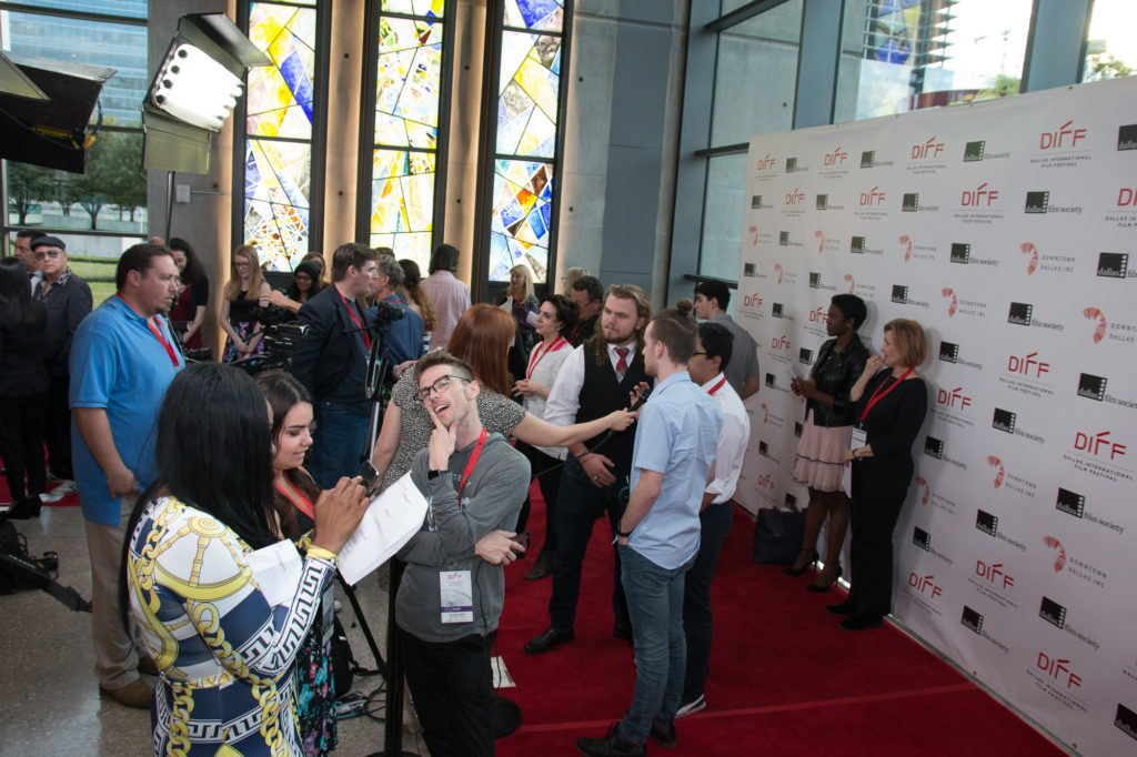 The red carpet interviews were lively (NIGHTMAN AND HUMMNGBIRD) (Photo by John R. Strange/Selig Polyscope Company)