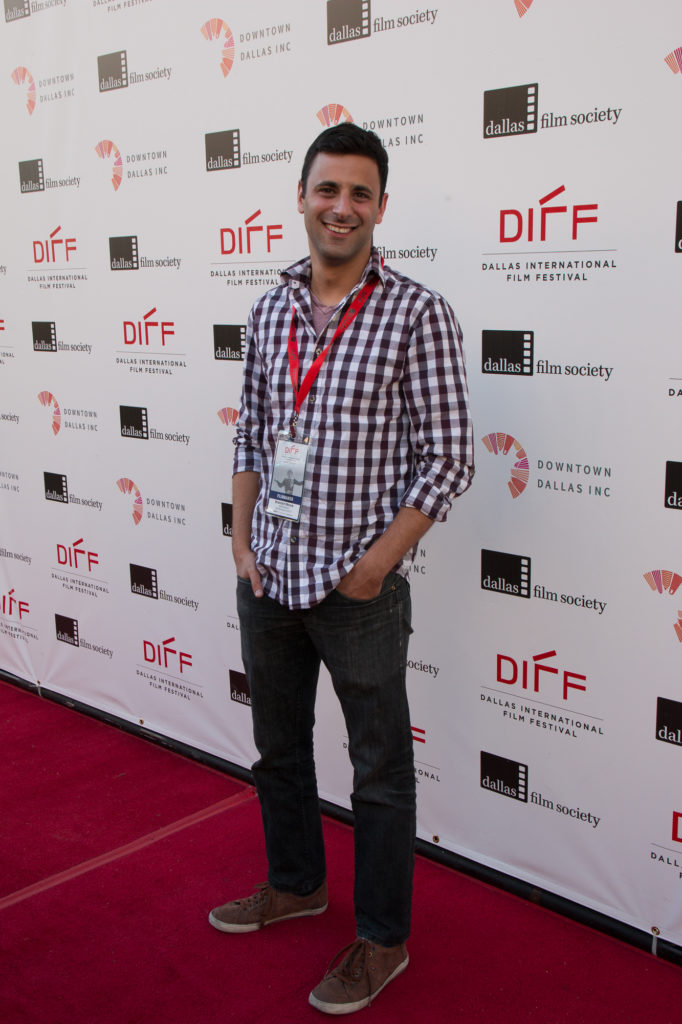 Brandon Moore, Director/Screenwriter of THE SPEARHEAD EFFECT (Photo by John R. Strange/Selig Polyscope Company)