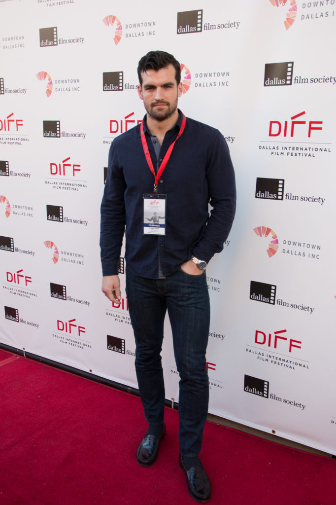 Caleb Smith, Director/Screenwriter of THE SPEARHEAD EFFECT (Photo by John R. Strange/Selig Polyscope Company)
