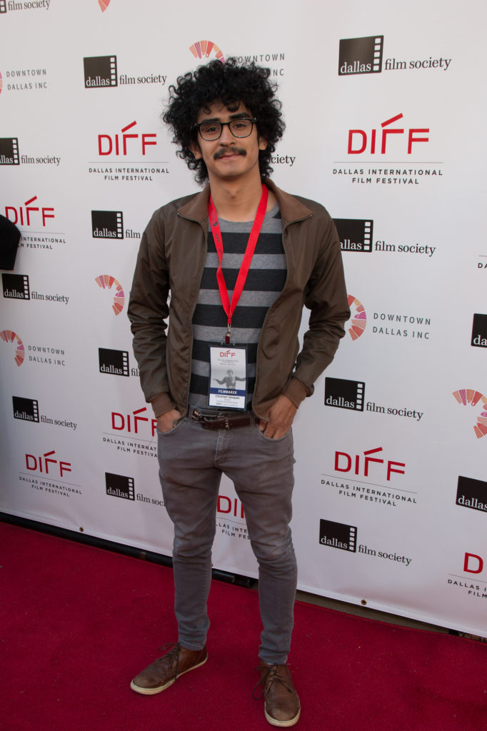 Christian Vasquez, Director of DIVIDED TOGETHER AGAIN (Photo by John R. Strange/Selig Polyscope Company).