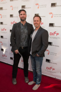 Mark Palansky (Director) and Lee Clay (Producer) of REMEMORY (Photo by John R. Strange/Selig Polyscope Company)