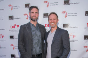 Mark Palansky (Director) and Lee Clay (Producer) of REMEMORY (Photo by Steve Duffy/Selig Polyscope Company).