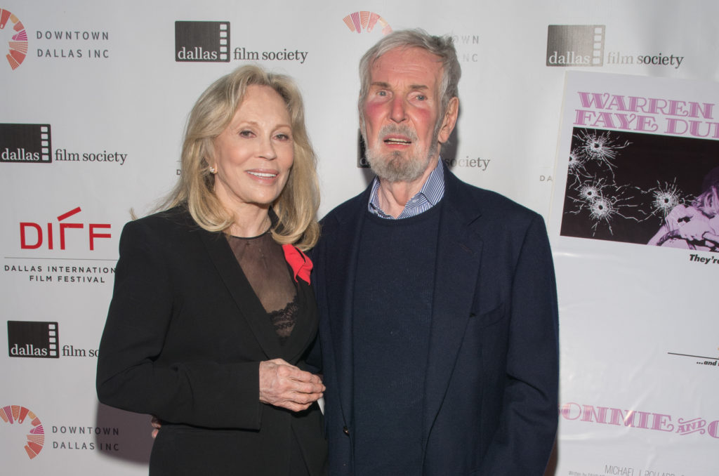 The Dallas Star Award honorees: Faye Dunaway and Robert Benton (Photo by Steve Duffy)