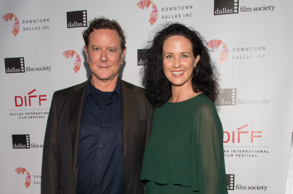 Judge Reinhold (DADDY'S DYIN'... WHO'S GOT THE WILL?) and Amy Reinhold (Photo by Steve Duffy)