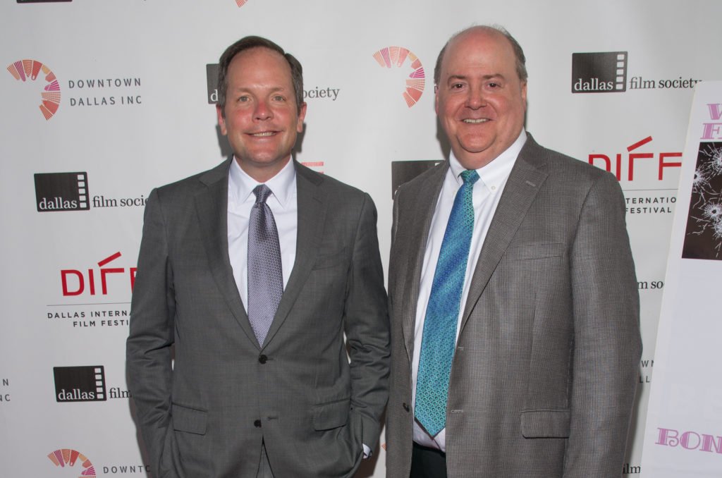 Mark Denesuk (DFS Chairman of the Board) and Lee Papert (DFS President and CEO) (Photo by Steve Duffy)