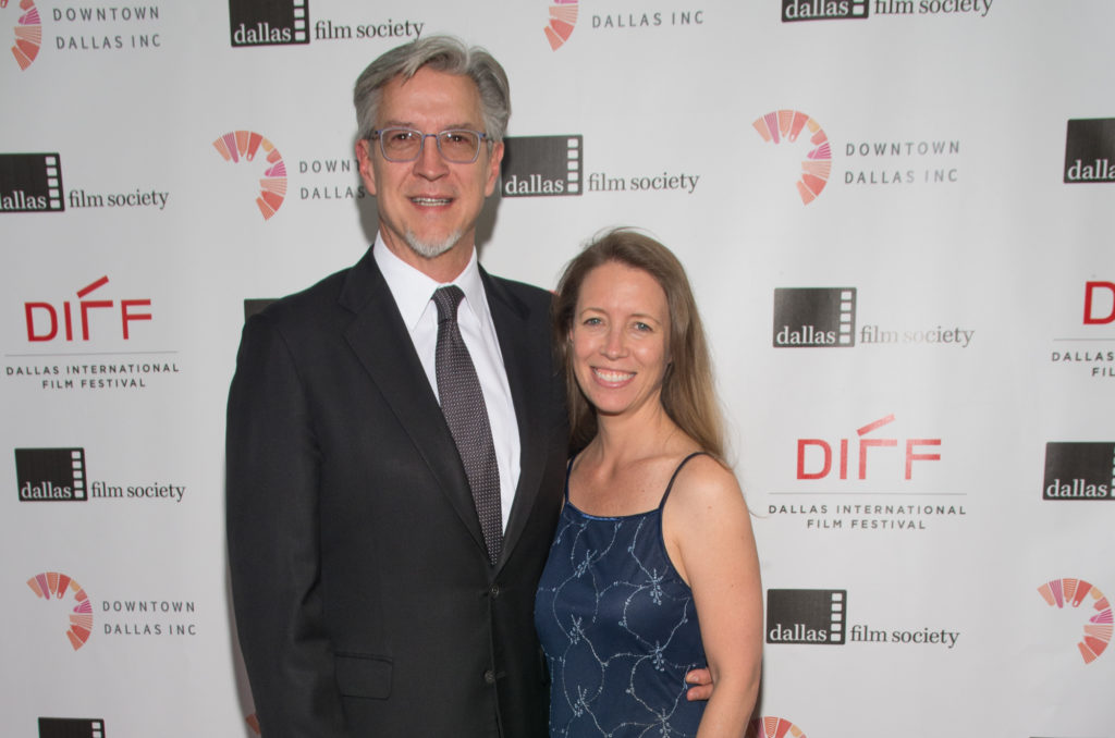 Michael Cain (DIFF Co-Founder) and Melina McKinnon (Photo by Steve Duffy)
