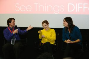 DIFF 2017 Q&A w:Zoey Deutch and Ry Russo Young (BEFORE I FALL) (Photo by Lindsay Jones)