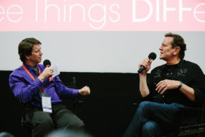 DIFF 2017 Q&A with Judge Reinhold (Photo by Precious Washington)