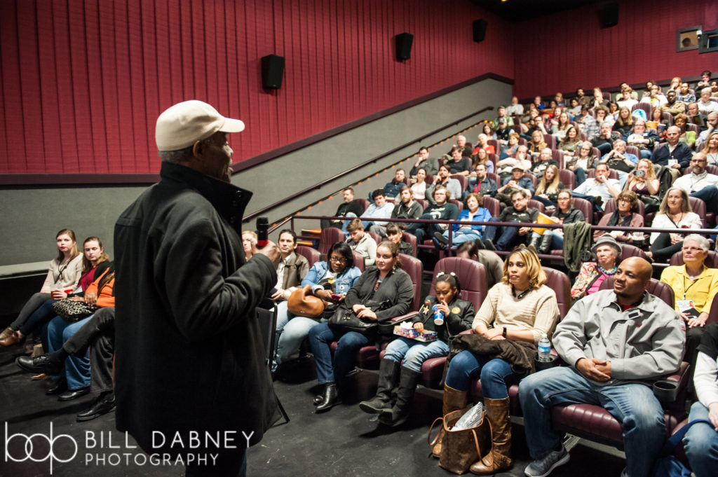 Danny Glover introduces I AM NOT YOUR NEGRO at the 2017 Oxford Film Festival