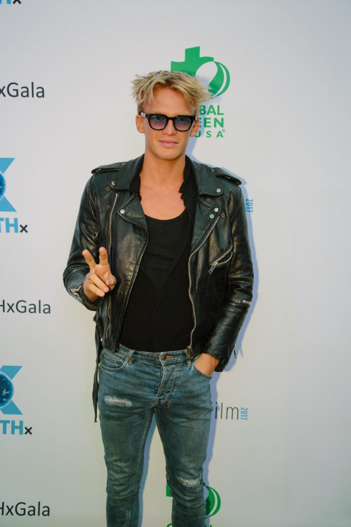 Australian recording artist Cody Simpson (Photo by Lindsay Jones)