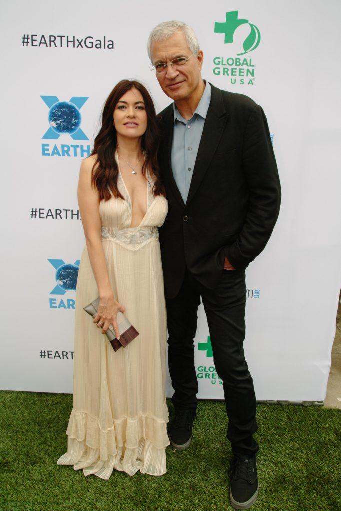 Leilani Münter, Louie Psihoyos (RACING EXTINCTION) (Photo by Lindsay Jones)