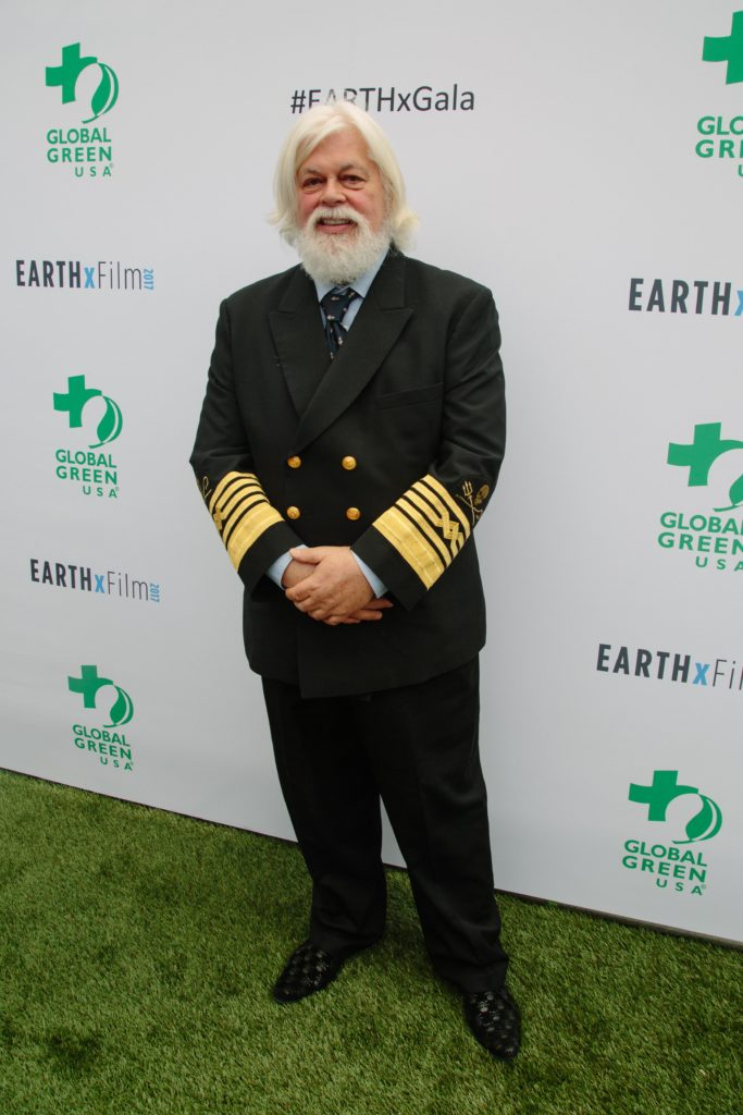 Honoree Paul Watson (Sea Shepherd Conservation Society) (Photo by Lindsay Jones)