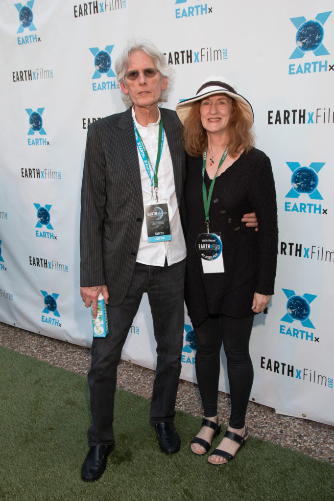 Dennis Bishop (Film Education & Development Consultant for EARTHxFilm and Janis Jolcuvar http://festworks.com/wp-content/uploads/2017/04/EARTHxFilm-2017-Opening-Night-Dennis-Bishop-and-Janis-Jolcuvar (Photo by John R. Strange/Selig Polyscope Company)