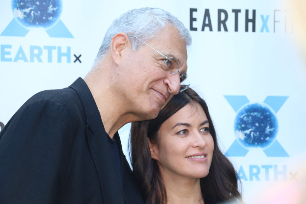 Louie Psihoyos, Leilani Münter (RACING EXTINCTION) (Photo by Sandra Kent)