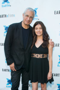 Louie Psihoyos (Director), Leilani Münter (professional race car driver), RACING EXTINCTION (Photo by Steve Duffy/Selig Polyscope Company)