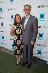 Michael Cain (Founder and President) and Melina McKinnon (Special Consultant – Festival Development and Management), EARTHxFilm (Photo by John R. Strange/Selig Polyscope Company)